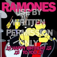 Ramones Birthday by medek1