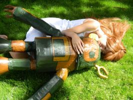 Clannad: Ushio and Robot by ItsMeraki-Cosplay