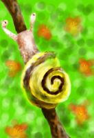 snail by CanineCriminal