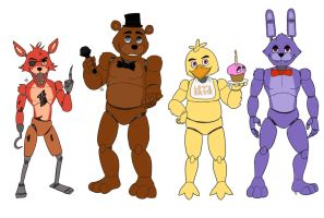 Freddy and co by Odu-F