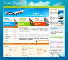 Papu travel by xtreamgraphic
