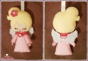 Angel Ornament by SailorMiniMuffin