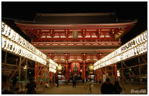 Lights of Asakusa 3 by Floatyman