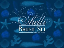 Shells brushes by viKING by viking