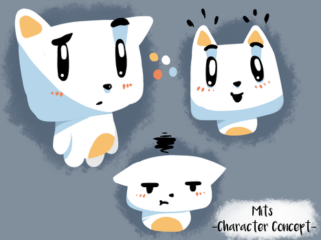 Mits - Character Concept by rexfurry