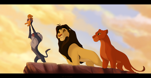 Mufasa's Ceremony by Kitchiki