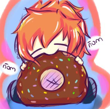 Me and a donut! by carolinacc12