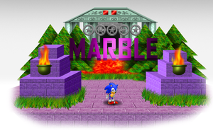 Marble Zone White Area by CrossoverGamer