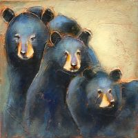 The Three little Bears by artistwilder