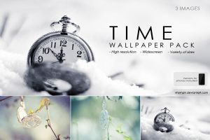 Wallpaper Pack: Time by CristaliaART
