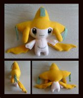Jirachi Plush by Lighiting-Dragon