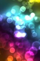 iPhone Bokeh Wallpaper by DezShearer