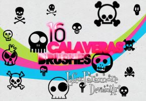 Brushes_Calaveras by LifexParamore