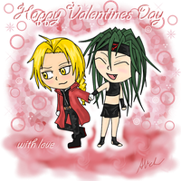 Valentines Day - Ed X Envy by anineko