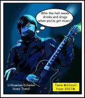 Tomo Milicevic by HiddenTrack1231