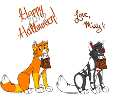 Halloween Adopts closed by labramazing