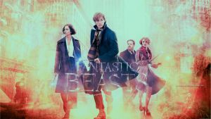 Fantastic beasts and where to find them wallpaper1 by HappinessIsMusic
