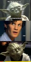 Matt Smith Proves Yoda Wrong by UnknownSword88