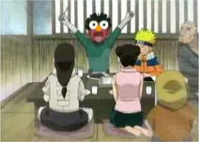 Rock Lee is Elmo XD by maudrake