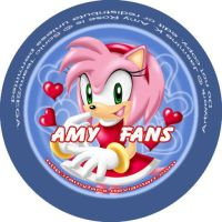 Amy Rose the Button by minit