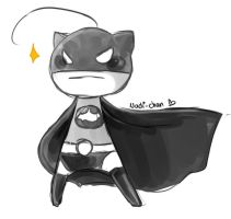 [Doodle] Batman!Cry by Nadi-Chan