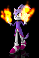Blaze the cat 2011 by Argos90