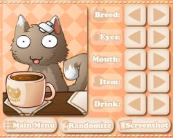 Cat Cafe - Dress Up Mode Screenshot by KupoGames