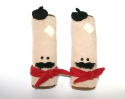 Stuffed French Toast Sticks Plush by Saint-Angel
