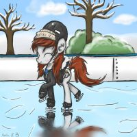 Iceskating by FinnishGirl97