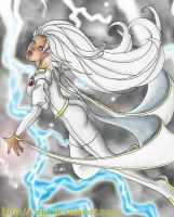 Goddess of the Heavens- Storm by cirgy
