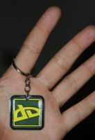 DA Icon Keychain by Seth890603