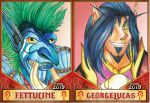 BlizzCon Badges set 1 by AvocadoPolymath