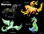 T of A: Elemental Horses by Furramon