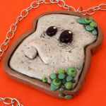 Moldy Bread Necklace by beatblack
