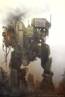 Speed painting - Mech by Devin87