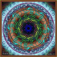 Mandala Present: Health for Hands by FractalBee