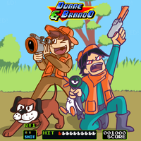 Duck hunt, baby. What a pain in the ass. I'm out. by funymony