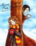 Harry Potter - Christmas Card by bucketmouse