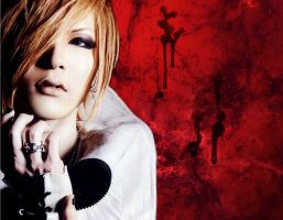 Uruha Red Wallpaper by Crimson-Truth