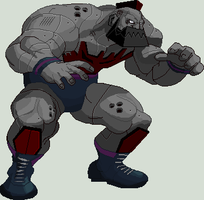 Metal Zangief HD V0 by 0kronos0