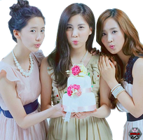 SNSD YoonYulSeo PNG by Kpopified
