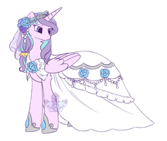 Pony OC ~ Formal Fair Shine by Crystal-Comb