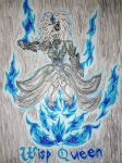 [Willow] Wisp Queen by ChibiCantDraw