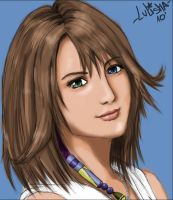 Yuna portrait full view plz by lulisha