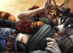 Cat and Dog by kenket