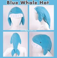 Blue Whale Hat , Design Winner by calgarycosplay