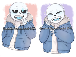 Sans fangs by Zoiekiwi