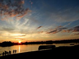 Sunset Silhouettes by Michies-Photographyy