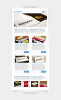 Locus Newsletter Layout I PSD by elemis