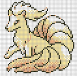 Ninetales by Hama-Girl